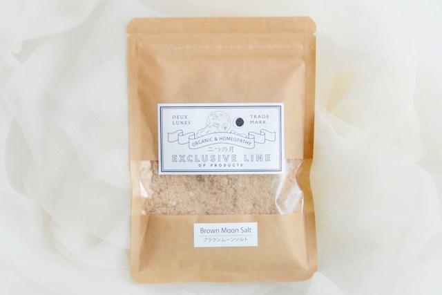 ブラウンムーンソルト(藻塩)80g