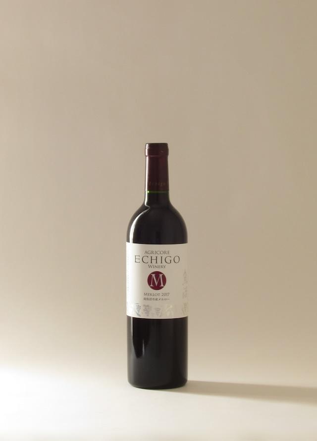 新潟 アグリコア越後ワイナリー 越後ワイン メルロー '17 (辛口)