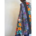 【RehersalL】ethnic gown onepiece(dark 3) /【リハーズオール】エスニックガウンワンピース(ダーク3)