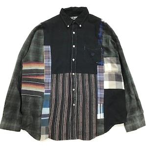 REMAKE  SHIRTS リメイクチェックシャツ【Shirts30】
