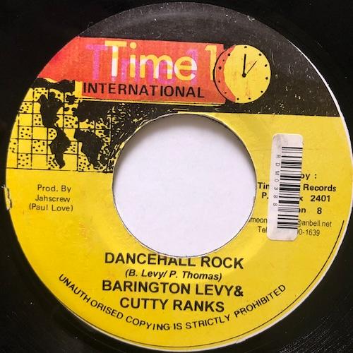 Barrington Levy, Cutty Ranks - Dancehall Rock【7-20695】