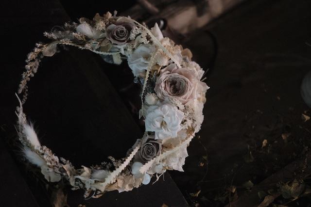 三日月リース〜白き月