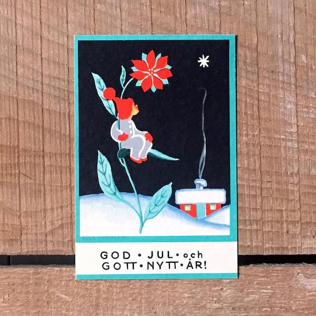 ミニ・クリスマスカード「Boel Cronberg(ボエル・クローンベリ)」《200313-02》