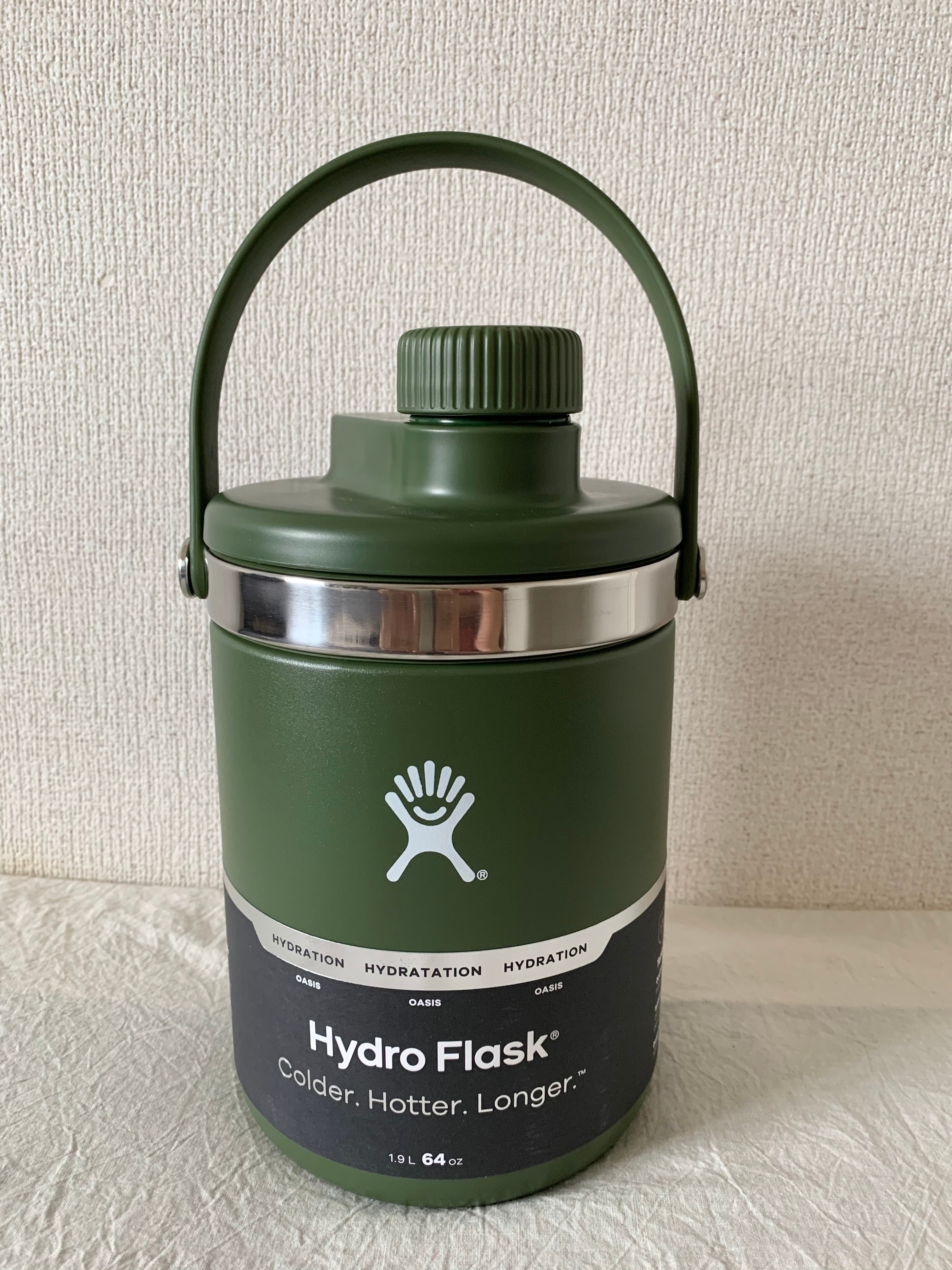 【Hydro Flask】64 oz Oasis / オリーブ