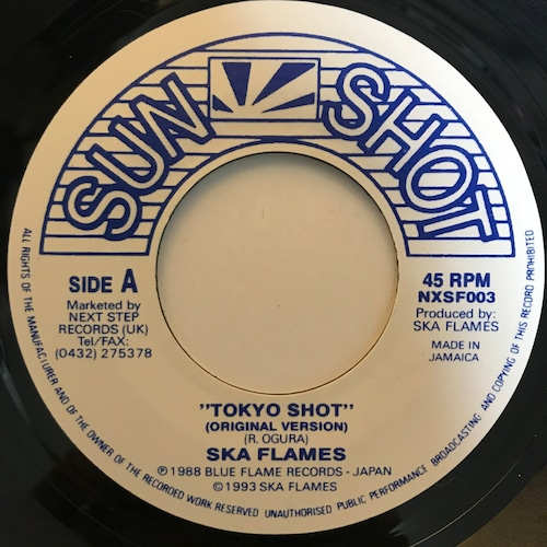 The Ska Flames - Tokyo Shot【7-10822】