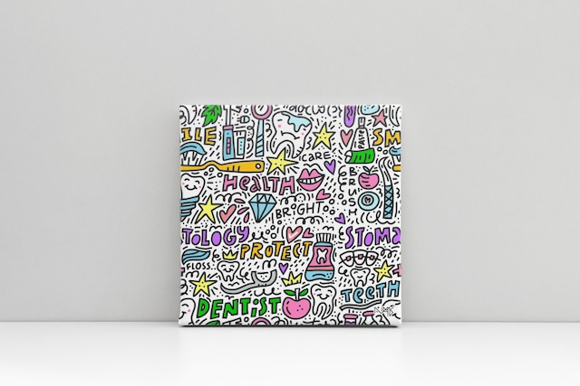 Canvas キャンバスプリント(スクエアS2サイズ・木製パネル貼り)