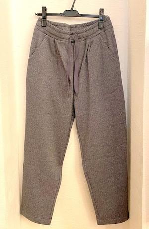 Bomber Heat BAKUDAN Tweed Tuck Easy Pants Charcoal