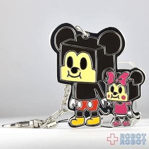 TDS ディズニーシー×デビルロボッツ D24 ミッキー&ミニー キーチェーン