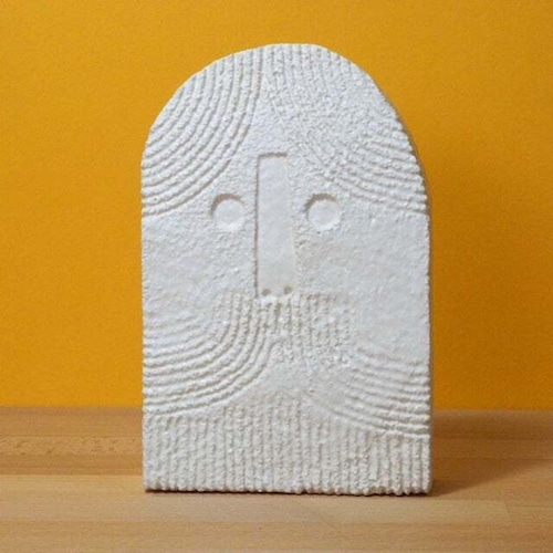 Peter Slight ceramics MEDIUM HEAD - BEARDY