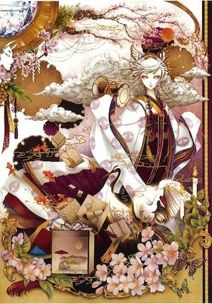 オリジナルウォールステッカー【桜乃箱庭 〜光〜 】A4 / yuki*Mami