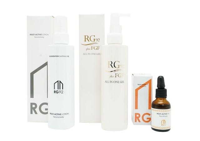 【お得なセット】RG92マルチアクティブローション+RG92 FGF オールインワンジェル+RG92マルチアクティブオイル【送料無料】