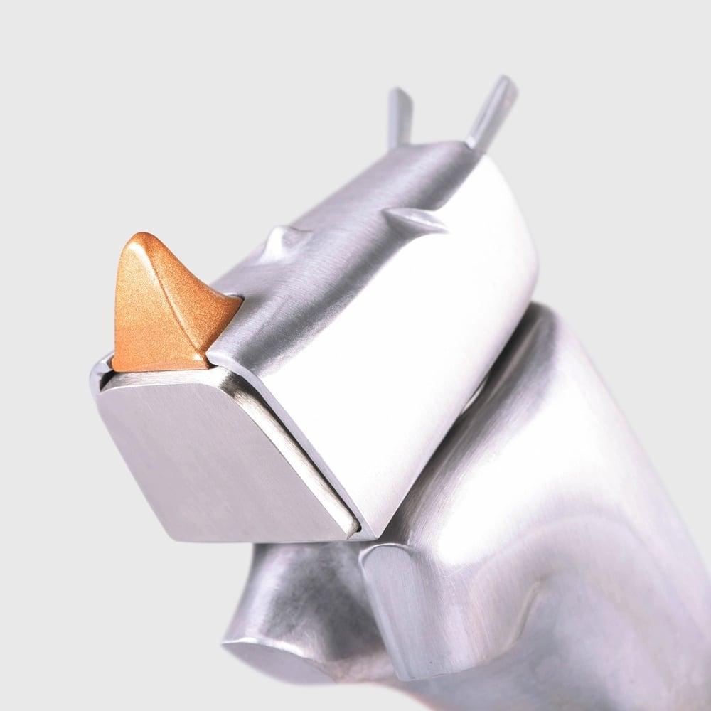 Rhino Hammer(ライノハンマー)サイがモチーフの金づち( A00021)