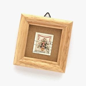 切手フレーム「1973年版 クリスマス切手 - クルビッツの花かご(1973)」