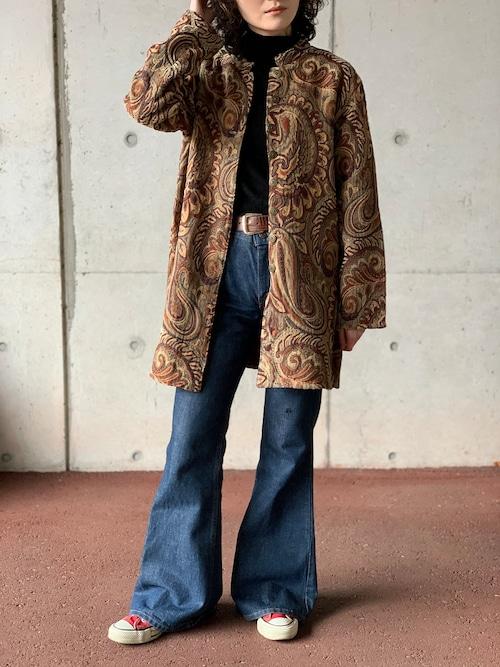 Vintage Jacquard Paisley Jacket