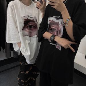 ユニークプリントTシャツ RD8402