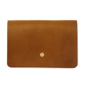 forme Hand wallet Liscio camel