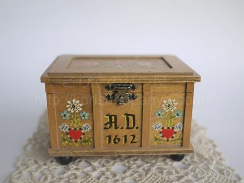 リュージュオルゴール コファー宝石箱 美しく青きドナウ AD1612