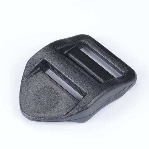 お得な100個入り nifco プラスチック アジャスター(しっかり) 25㎜幅用 黒 LL25S