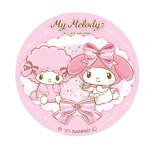 My Melody Cafe 缶バッジ(ピアノ)