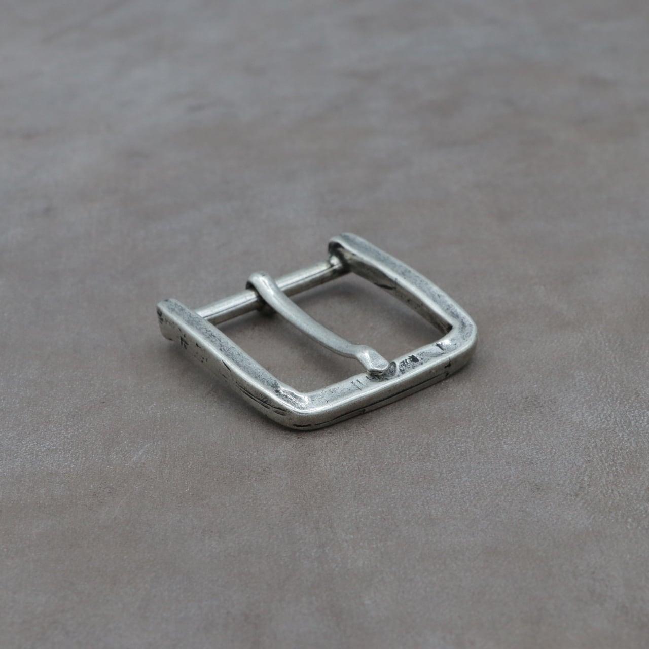 【F25799】イタリア製 バックル 35mm幅 カジュアルベルト用 尾錠 スクエア シンプル