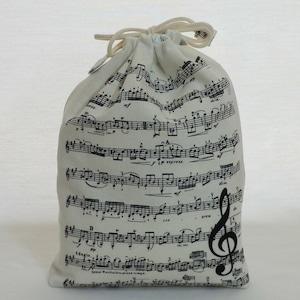 巾着袋/楽譜の巾着袋 (5-202)