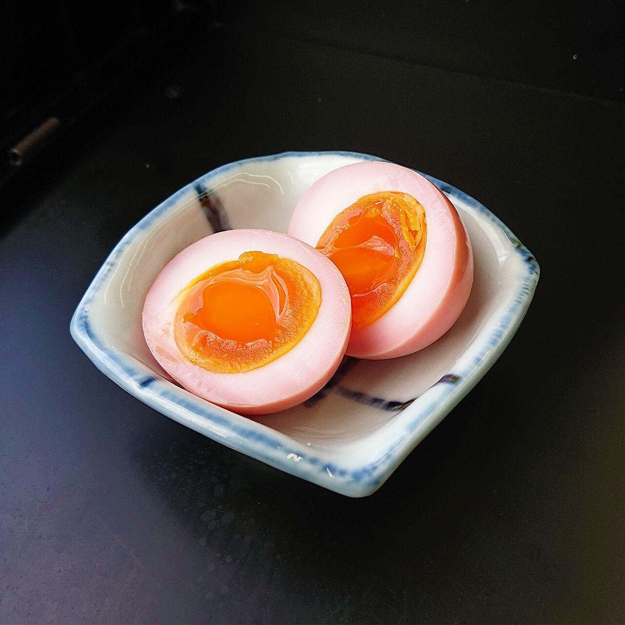 【桜ver.】おうちで味付け玉子 自作キット