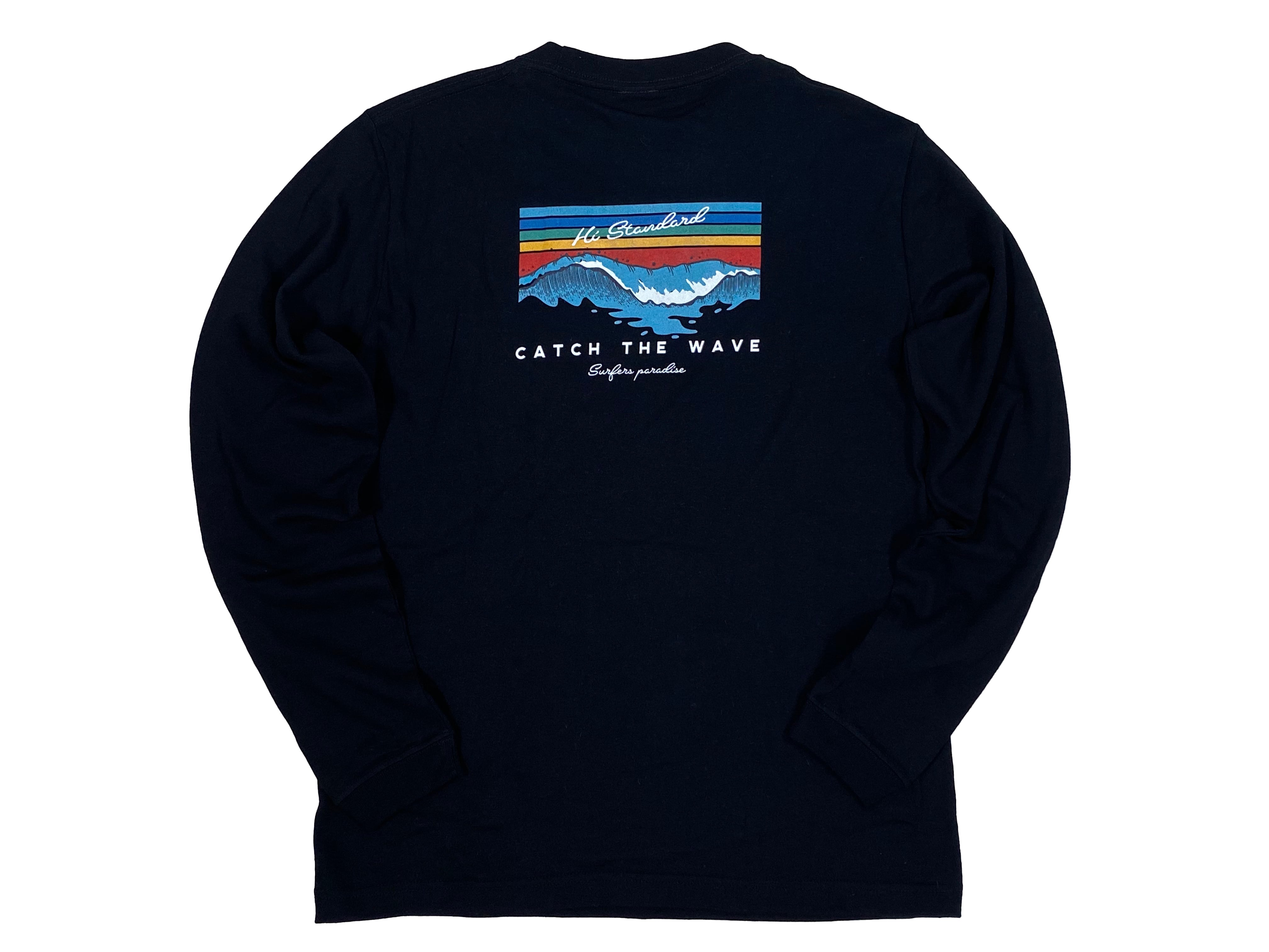 【Catch the wave long sleeve】/ black