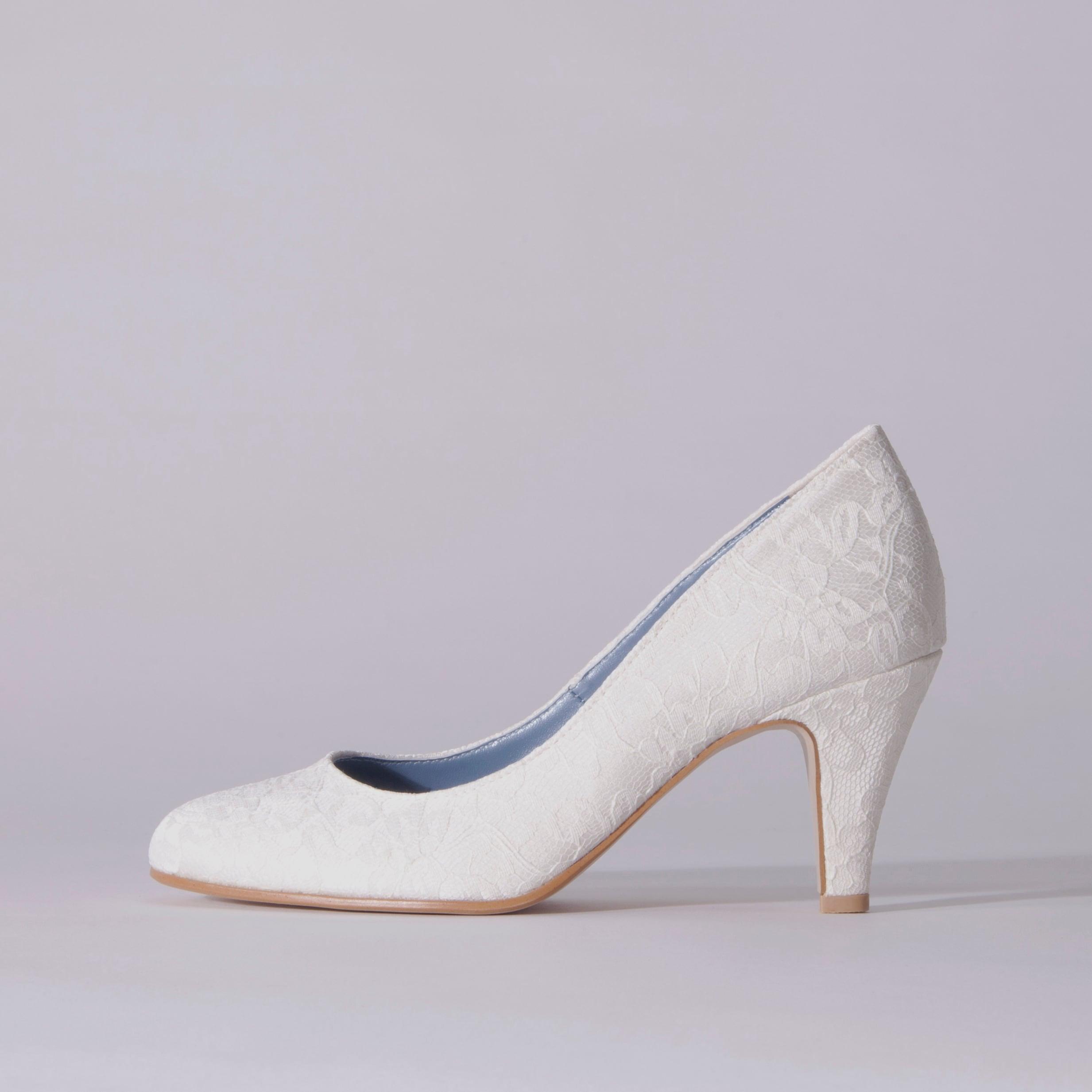 Lace / Close Toe / 7cm / WH 【7002 WH】