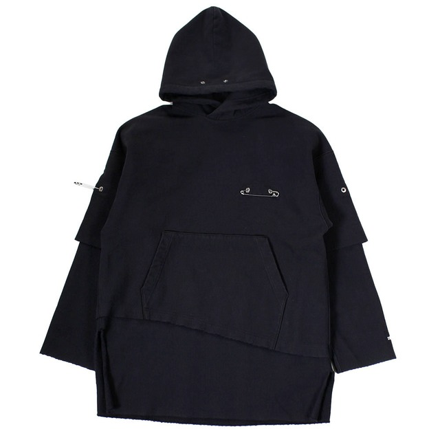 ALMOST BLACK Black Hoodie