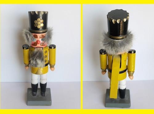 くるみ割り人形 黄色王様 ドイツのクリスマス