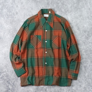 "1970s  "" Kmart ""   Cotton  Shirts  M b226"