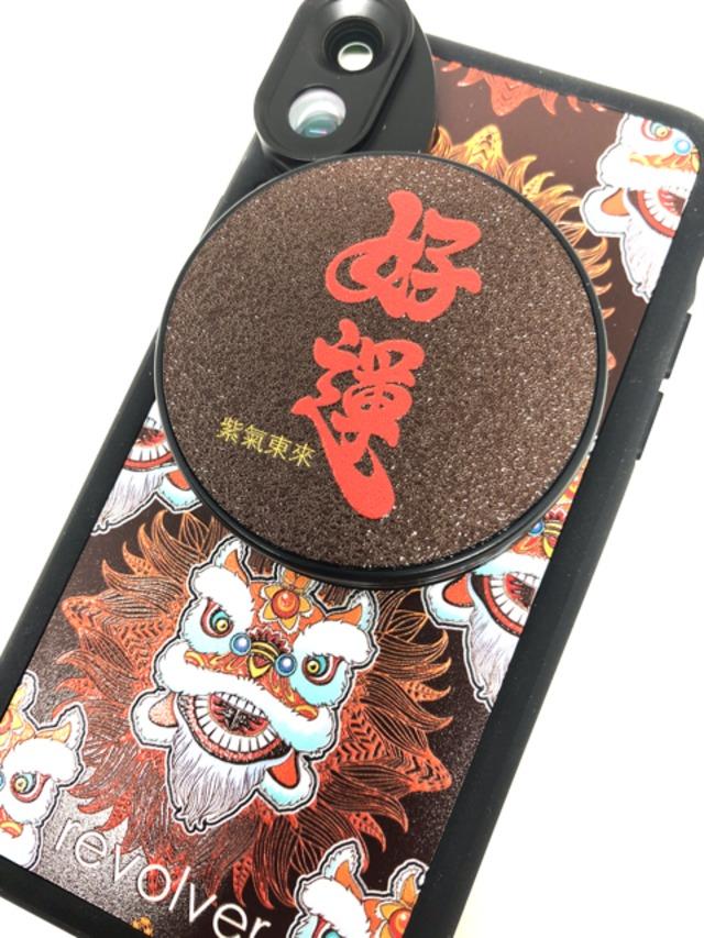 オフィシャルサイト限定販売【iPhone X & XS向け】6つのレンズを搭載したレンズ着脱型ケース「LionDance」