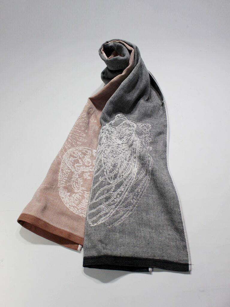キャンペーン商品 三八染め刺繍三重織ガーゼタオル