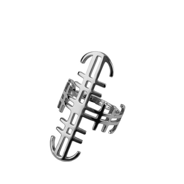 タトゥーリング 【Chess Symbol - Silver】