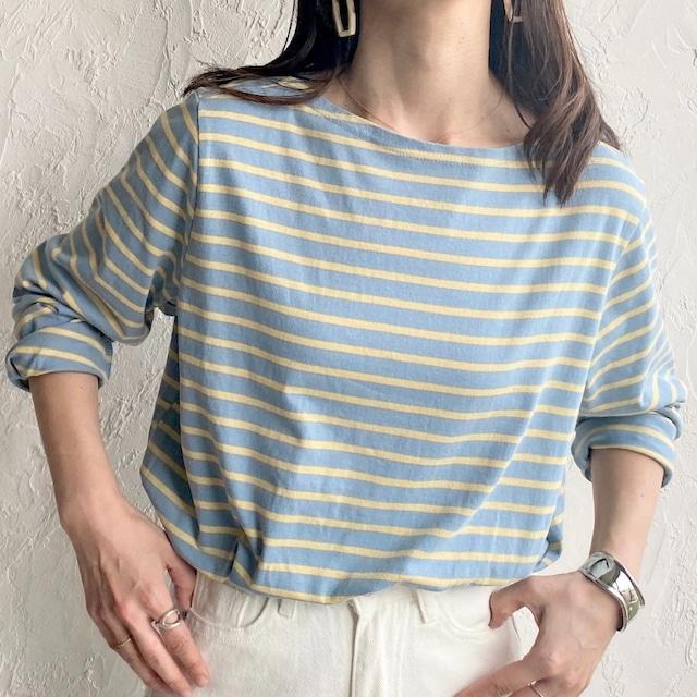 ◆即納◆ ボーダー 長袖 ロングTシャツ OP-t137