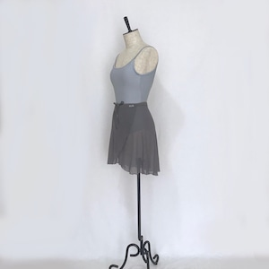 "❖""Fiorina"" Ballet Wrap Skirt - Shadow Gray [Sheer]( シャドウ・グレイ [シアー])"