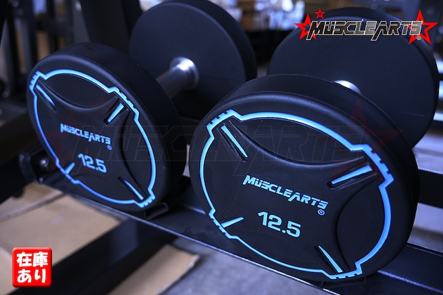 【12.5kg×2】MUSCLEARTSオリジナルダンベル ペア【単品販売】【数量限定】【全国送料無料】