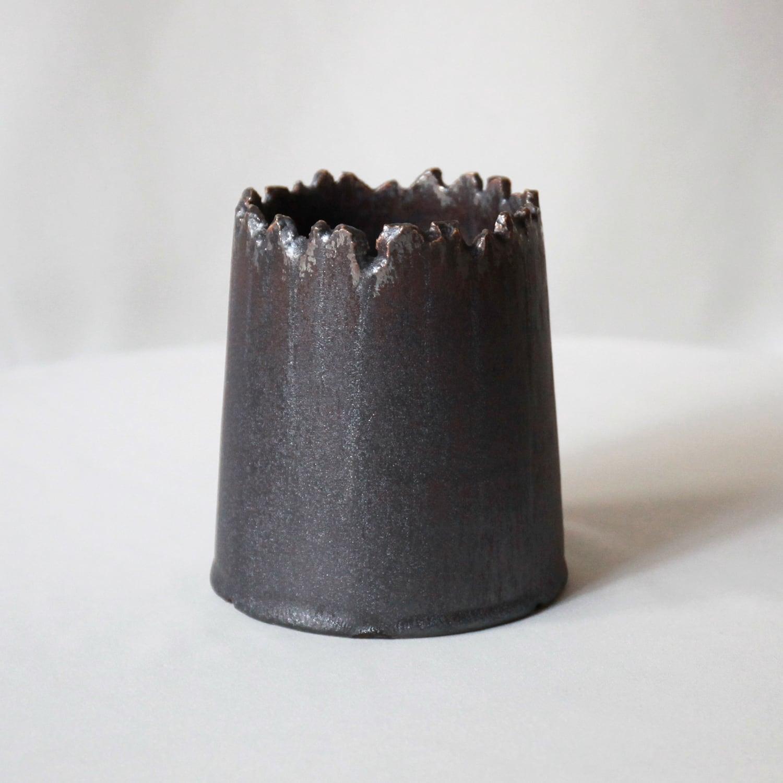 Roughness Black Plants Pot(No,18)※MEDIUM
