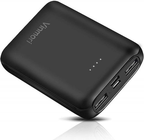 モバイルバッテリー 携帯 充電器 10000mAh 出力電圧 DC5V/2.1A 最小最軽量 大容量 USB PSE認証済 【安心1年保証!】