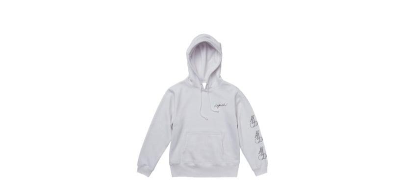 coguchi cherry hoodie (WHT)