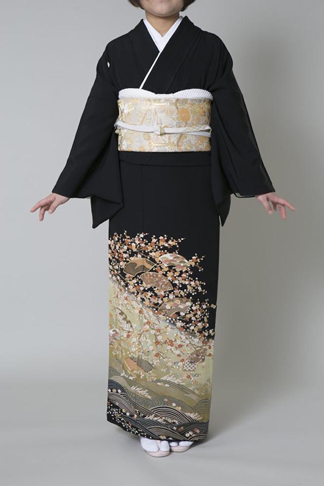 【レンタル】黒留袖 TAM-3(Mサイズ)
