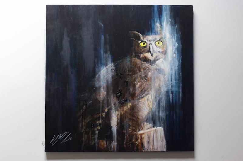 owl (額入り特別作品)