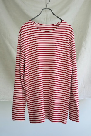Big Size Border Shirt Dead Stock (red) - Russian Military
