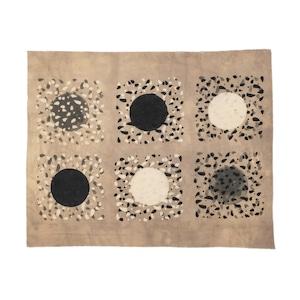 ブロックプリント 向井詩織 No.4 インドの伝統工芸品 50×62cm