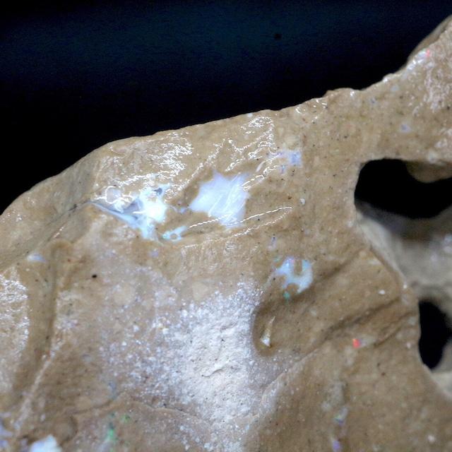 超希少! カリフォルニア産 オパール 原石 鉱物 天然石 76,8g CAO068 パワーストーン