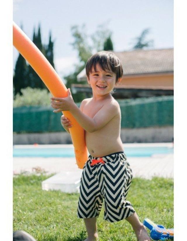 【20SS】ゾジオ(ZOZIO) Boys swimwear[S / M / L ]black border 水着 スイムパンツ
