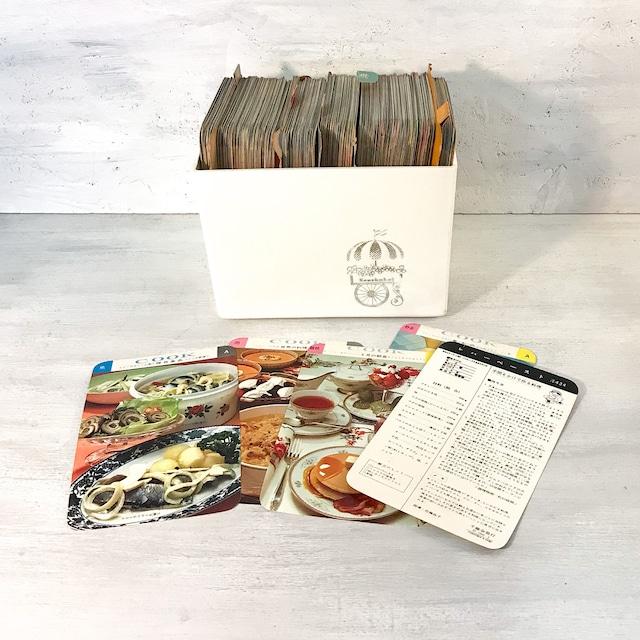 【R-648】1969年千趣会料理レシピカードセット