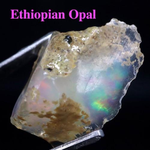 エチオピアオパール ケース入り アイダホ産  0,9g OP089 原石 鉱物 天然石 パワーストーン
