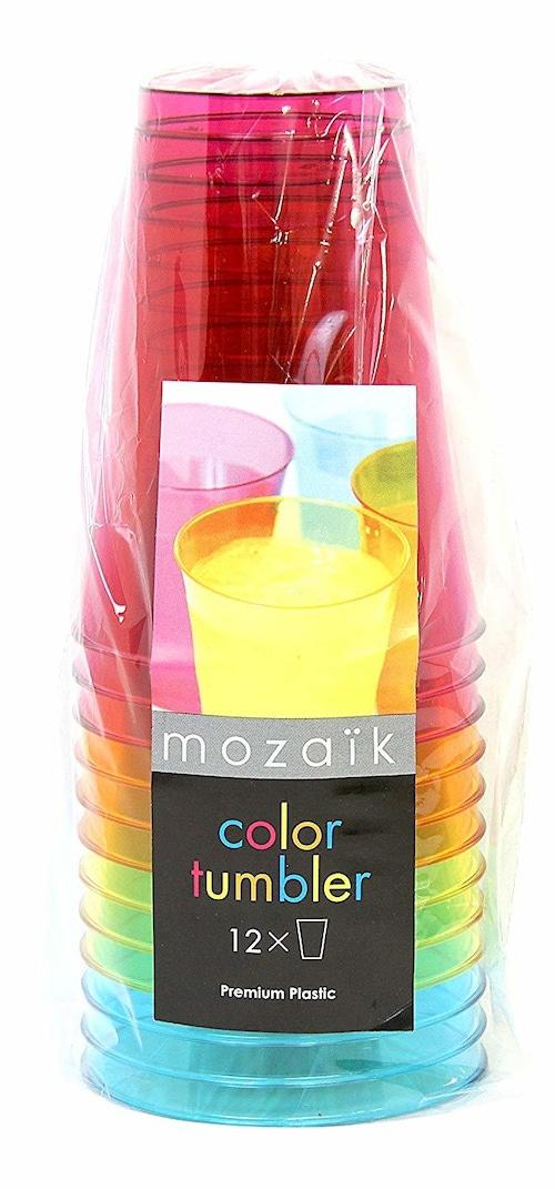 mozaik Color Tumbler 12pcs 4色ミックス