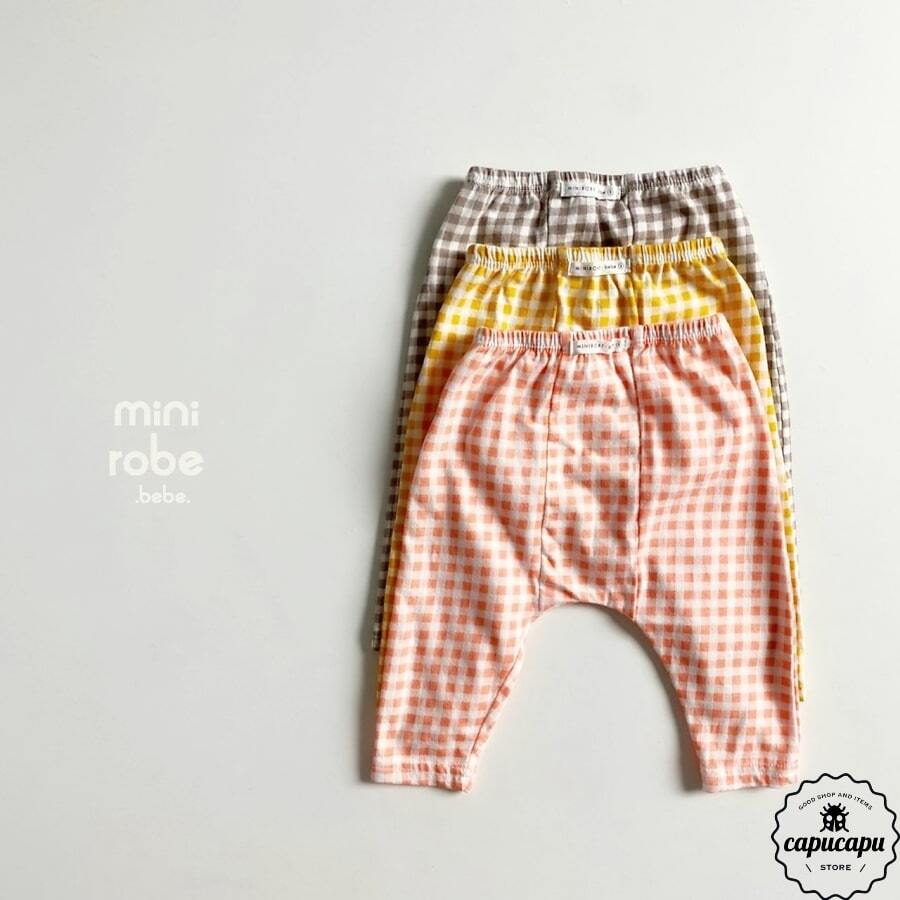 «sold out»«bebe» check leggings 3colors ベビー レギンス